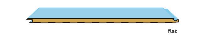 Διατομές και νευρώσεις για τα πάνελ πολυουρεθάνης horizon_επίπεδο
