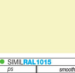 χρωματική παλέτα για πάνελ πολυουρεθάνης horizon_κίτρινο
