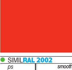 χρωματική παλέτα για πάνελ πολυουρεθάνης horizon_κόκκινο