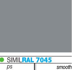 χρωματική παλέτα για πάνελ πολυουρεθάνης horizon_γκρί